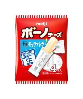 明治ボーノチーズ 明治北海道十勝モッツァレラ」はクセが少なく、ほのかに甘いミルキーな風味と弾力のある食感が特徴