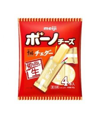 「明治ボーノチーズ 明治北海道十勝チェダー」は明治独自のうまみ乳酸菌熟成技術により、濃厚な旨味と苦味の少ない食べやすさが特徴