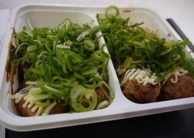「大阪アメリカ村 甲賀流」のたこ焼き(ソースマヨ)は10個¥350