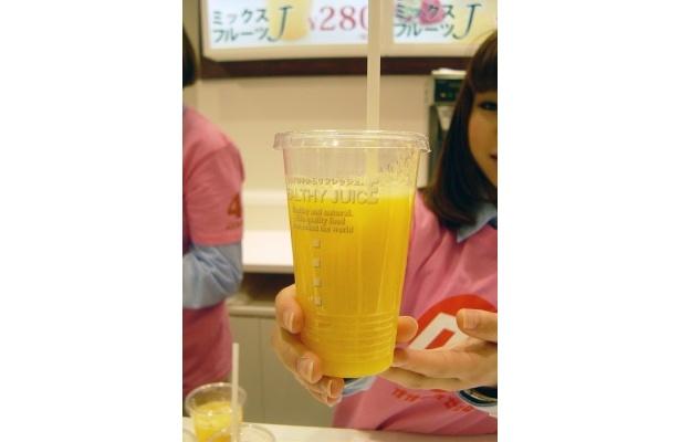 大阪名物のミックスジュースも!