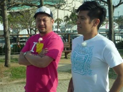 3月の沖縄は、半そで1枚でも快適に過ごせます