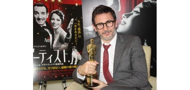 第84回アカデミー賞で作品賞をはじめ最多タイ5部門を受賞した『アーティスト』のミシェル・アザナヴィシウス監督