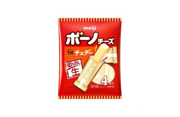 「明治北海道十勝チェダーチーズ」パッケージデザイン