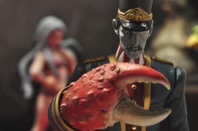 同じく佐賀の名産・竹崎カニがモチーフの妖怪 竹崎