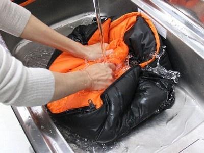 手洗いで丸洗い可能!