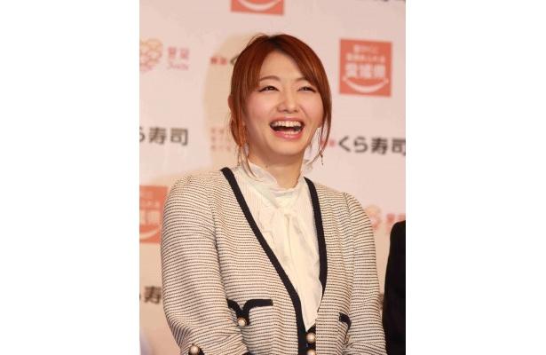 「くら寿司さんに愛媛をPRしていただけるなんて心強いです」と明かす