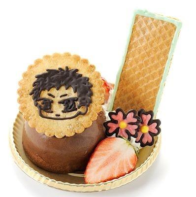 「横浜夢本舗」の「『山崎流・忍法畳返し!』山崎のチョコムース」