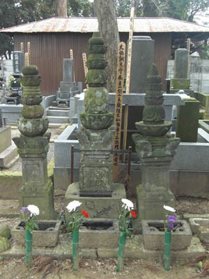 「のぼうの城」にも登場するお坊さんの墓