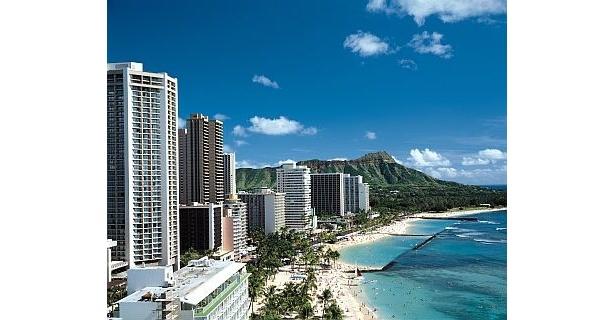 ビーチリゾートでは、ハワイとミクロネシアが人気だ