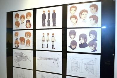 アニメ版の紹介コーナーも設置