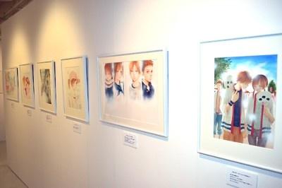 会場には93枚もの原画が展示