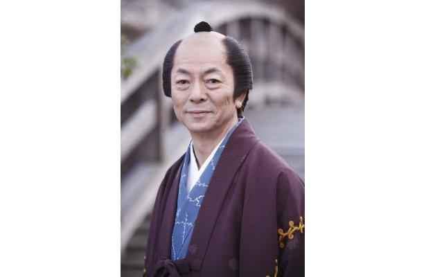 絵師・喜多川歌麿を演じる水谷豊
