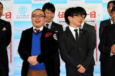 バッファロー吾郎・バッファロー吾郎A(木村明浩/左)、竹若元博(右)