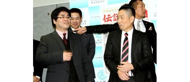 へびいちご・島川学(左)、高橋智(右)
