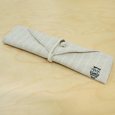 まこの刺繍がアクセント「まこ箸袋」(1100円)