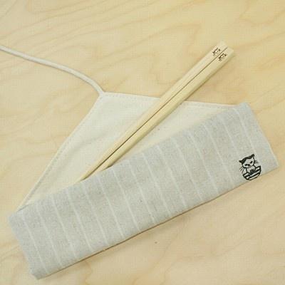 まこ箸と箸袋のセット(2300円)