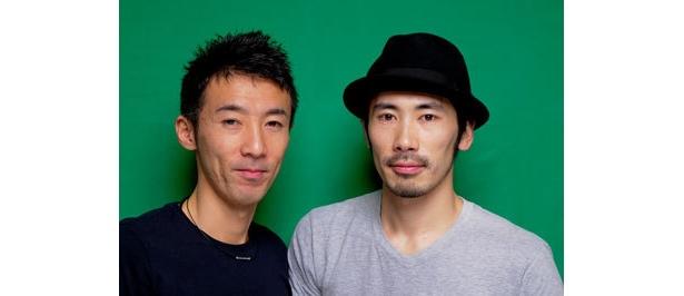 ちょっぷりん●32歳の西野恭之介(右)と33歳の小林幸太郎(左)、芦屋出身、芦屋在住で同級生の松竹芸能所属コント師。初司会の番組「ハンプンマスター」がCSで開始。視聴者が携帯動画で30秒撮影した映像を紹介する内容だ。http://zaq.ne.jp/hampun/まで映像をお送りください!