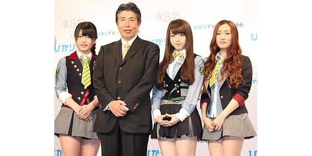 ひかりTVの板東社長とフォトセッション
