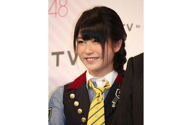"""横山さんは「AKBメンバーの誰が一番良い接客ができるか、みたいな""""バイト選抜""""で競ってみたい!」"""