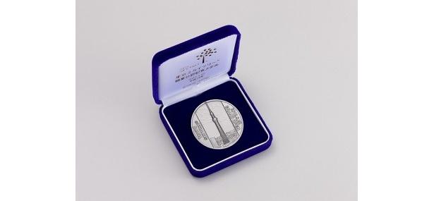 純銀製メダルケース入り(2万1000円)