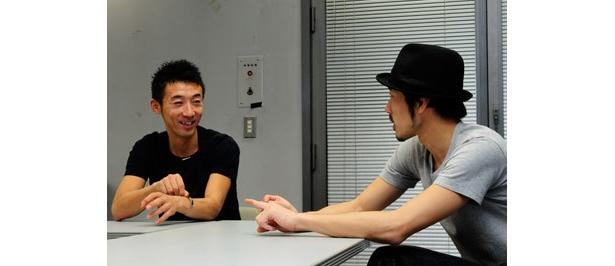 ちょっぷりん●西野恭之介(右)と小林幸太郎(左)、芦屋出身の芦屋在住。初司会の番組「ハンプンマスター」がCSで開始。視聴者が携帯動画で30秒撮影した映像を紹介する内容。http://zaq.ne.jp/hampun/まで映像をお送りください!