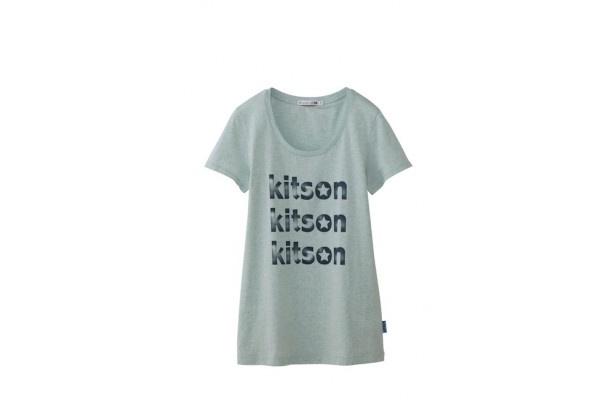 LAセレブ御用達のkitsonのロゴTシャツ