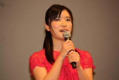 声優をつとめたときの、美山加恋。