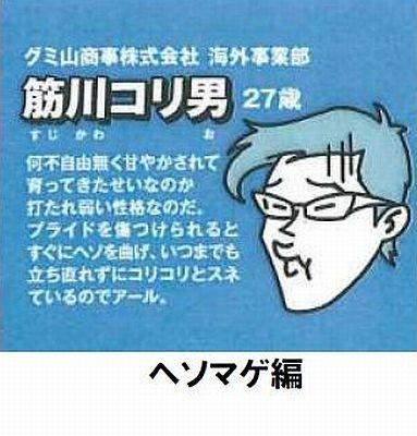 筋川コリ男(ヘソマゲ編)