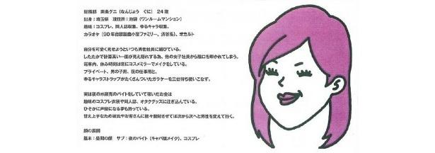 南条グニのキャラクター詳細