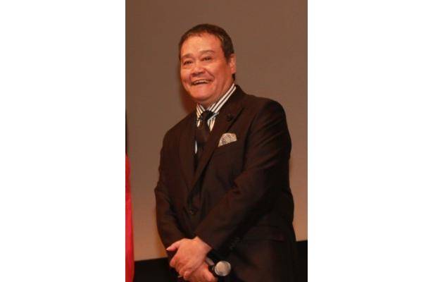 西田は「最近、人間の役をあまりやっていません。西田敏行です」とあいさつし会場を沸かす