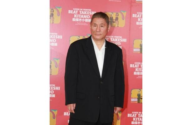 記者発表に登場したBEAT TAKESHI KITANO