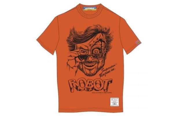 『ロボット』と映画好きのためのTシャツオンライン通販ビンセントベガのコラボレーションTシャツ