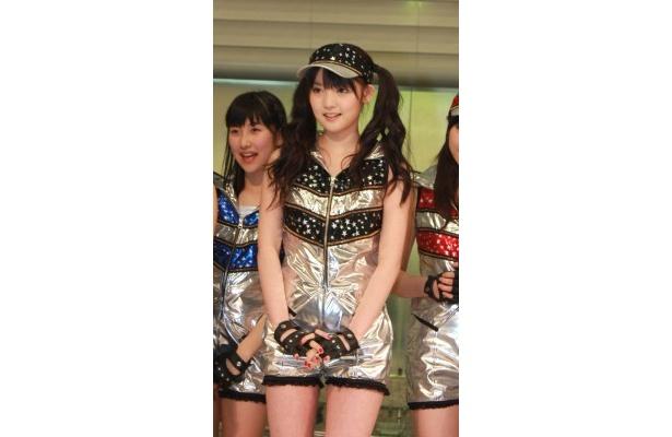 道重さゆみは「垣さん(新垣)が卒業しても、より格好良いモーニング娘。になるよう頑張りたい」と意気込む