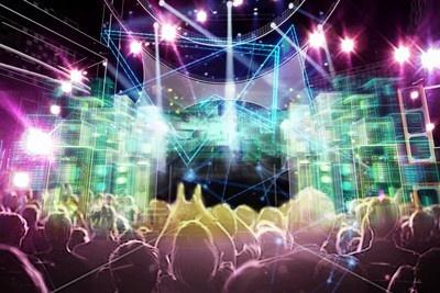 ライブステージのイメージ