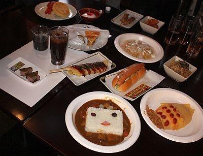 【写真】ユニークすぎる料理写真14品はコチラ