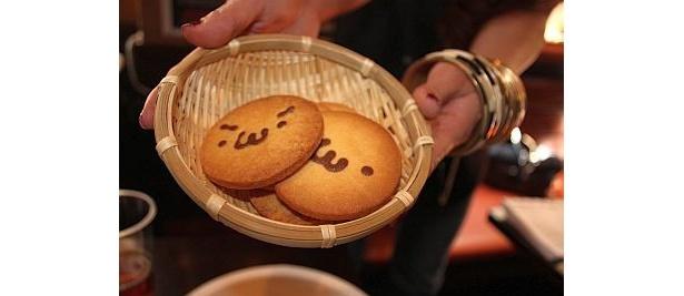 「ショボーンクッキー」(4枚・300円)