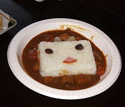 「ニコニコ動カレー」