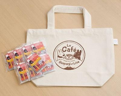 トートバック入りの紅茶(1200円)も発売