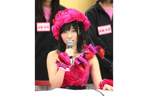 「ランキング1位を狙う!」と息巻くAKB48・指原莉乃