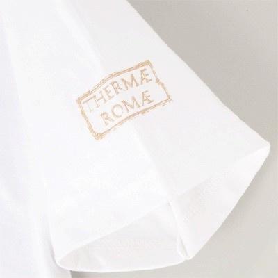 """【写真】Tシャツの袖にさりげなく""""THERMAE ROMAE""""と印字されている"""
