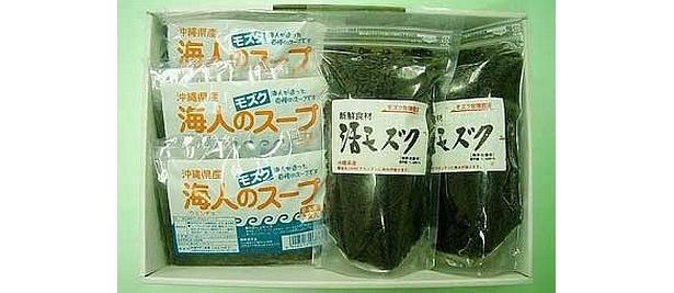 活きモズク・スープセット(2350円)