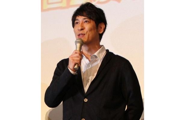 「声優は難しかった」とコメントするココリコの田中直樹