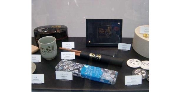 「てっちゃんミュージアム」の展示品