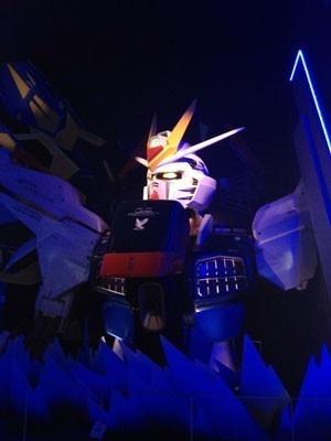 【画像】場内にはガンダムの実物大胸像も!詳細画像はコチラ