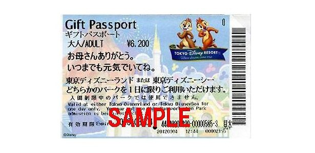 オリジナルメッセージ入りのギフトパスポート