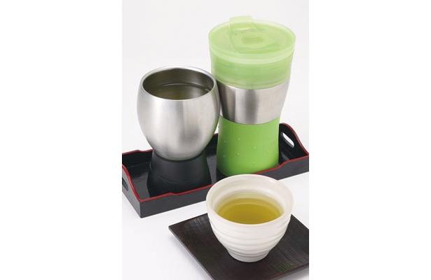アレンジ次第で、煎茶や紅茶も楽しめる