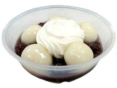 十勝産小豆を使用した「クリーム白玉ぜんざい」は5月3日(木)発売