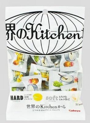 【画像を見る】こちらは同日発売の「世界のキッチンからアソートキャンディ」(210円)