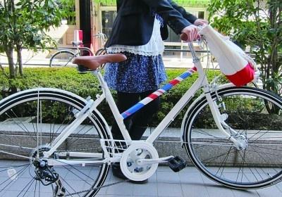 味気ない自転車もキュートに変身!