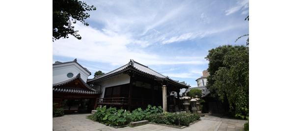 約1300年前に聖徳太子により創建された由緒ある寺だ